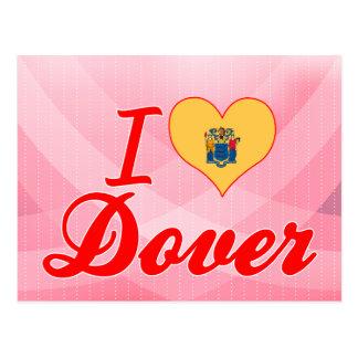 Amo Dover, New Jersey Tarjetas Postales