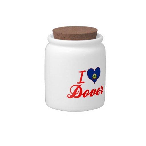 Amo Dover, Vermont Platos Para Caramelos