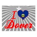 Amo Dover, Vermont Tarjetas Postales