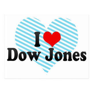 Amo Dow Jones Tarjeta Postal