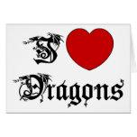 Amo dragones felicitacion