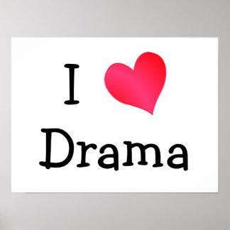 Amo drama póster