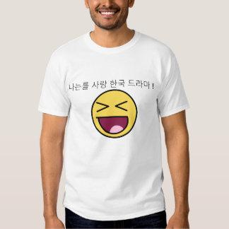Amo dramas coreanos remera