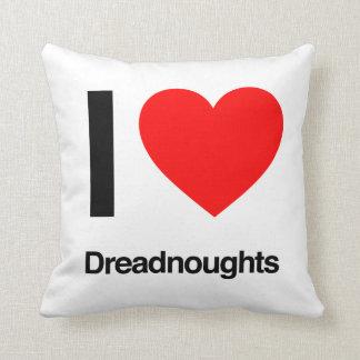 amo dreadnoughts almohadas