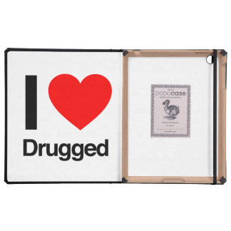 amo drogado iPad protectores