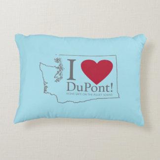 Amo Du Pont, almohada del azul de WA Cojín