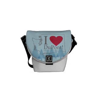Amo Du Pont, la bolsa de mensajero de WA Bolsa De Mensajeria