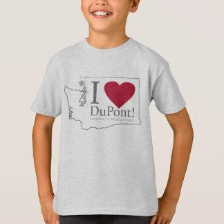 Amo Du Pont, la camisa del muchacho de WA