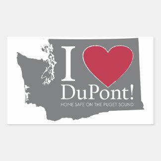 Amo Du Pont, pegatina de WA
