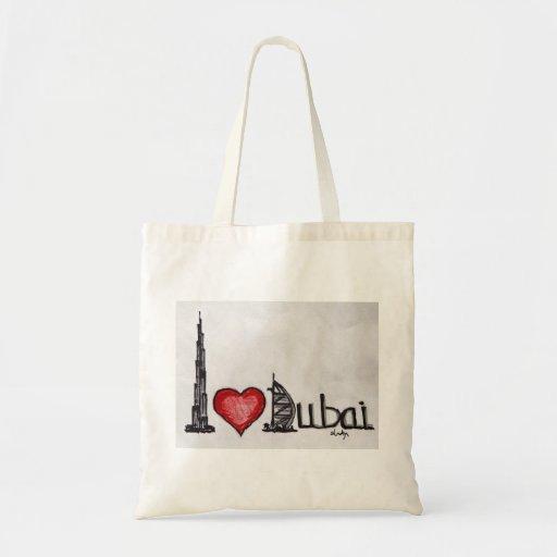 Amo Dubai Bolsa De Mano
