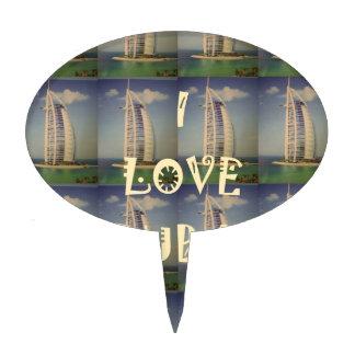 Amo Dubai Figuras Para Tartas