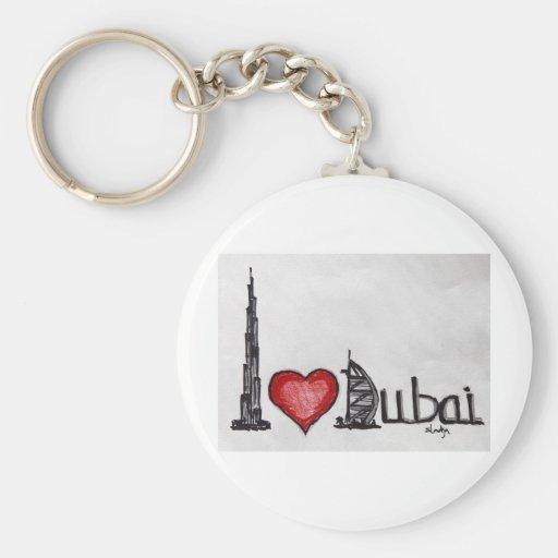Amo Dubai Llaveros