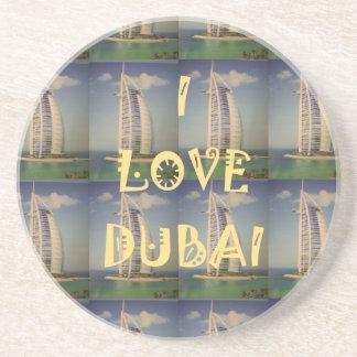Amo Dubai Posavasos Diseño