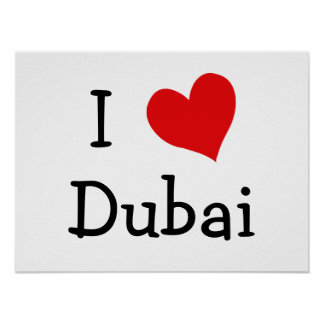 Amo Dubai Póster