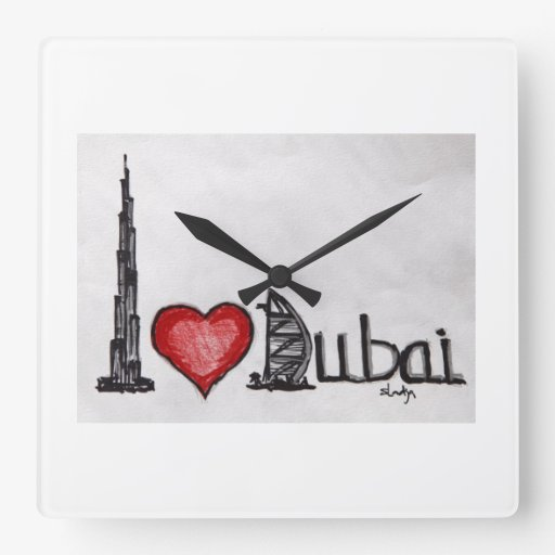 Amo Dubai Relojes De Pared