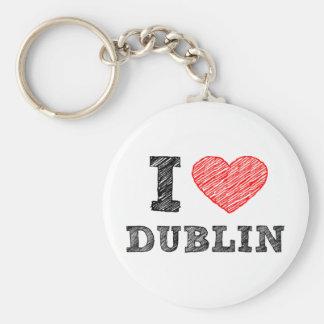 Amo Dublín Llavero