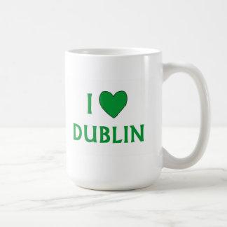 Amo Dublín Taza De Café