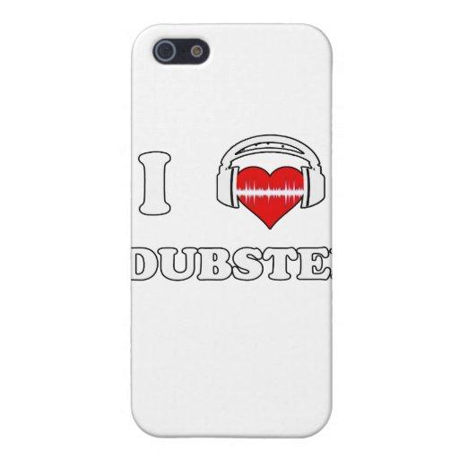 Amo Dubstep iPhone 5 Carcasas
