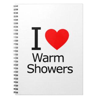 Amo duchas calientes libros de apuntes