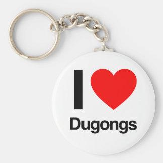 amo dugongs llaveros personalizados