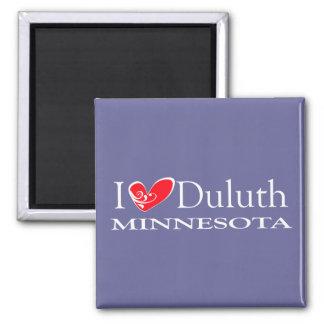 Amo Duluth Minnesota Imán De Frigorifico