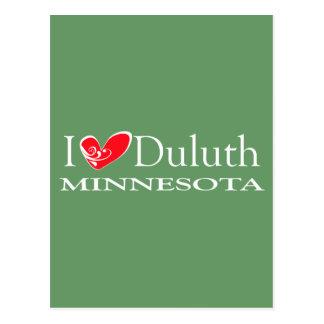 Amo Duluth Minnesota Tarjeta Postal