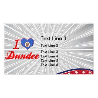 Amo Dundee, Minnesota Tarjetas Personales