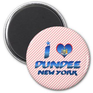 Amo Dundee, Nueva York Imanes Para Frigoríficos