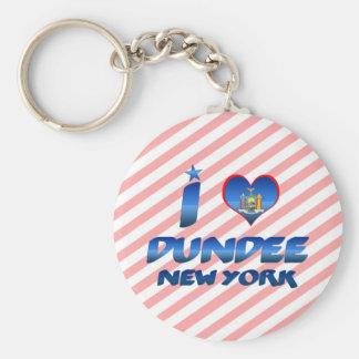 Amo Dundee Nueva York Llaveros
