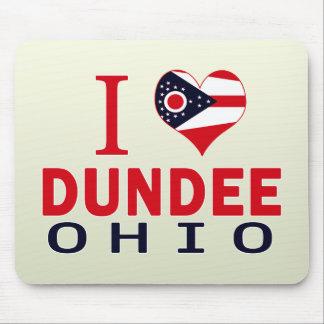 Amo Dundee Ohio Alfombrillas De Ratones