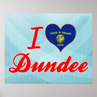 Amo Dundee, Oregon Impresiones