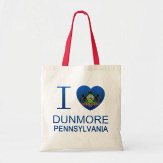 Amo Dunmore, PA Bolsa Tela Barata
