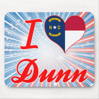 Amo Dunn, Carolina del Norte Tapetes De Ratones