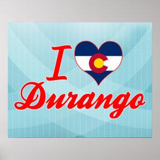 Amo Durango, Colorado Poster