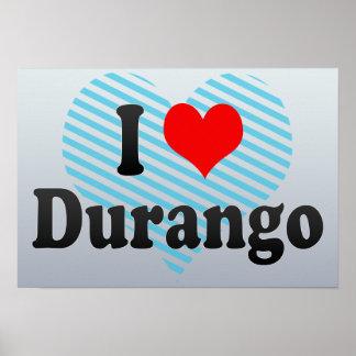 Amo Durango, México Poster