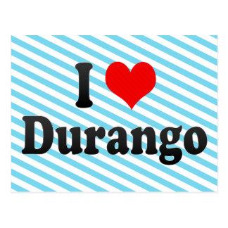 Amo Durango, México Postales