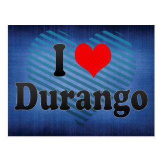 Amo Durango, México Tarjeta Postal