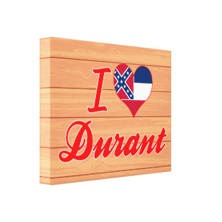 Amo Durant, Mississippi Lona Estirada Galerías