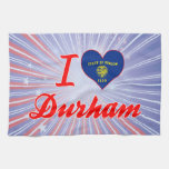 Amo Durham, Oregon Toalla De Mano