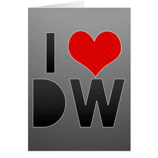 Amo DW Felicitacion