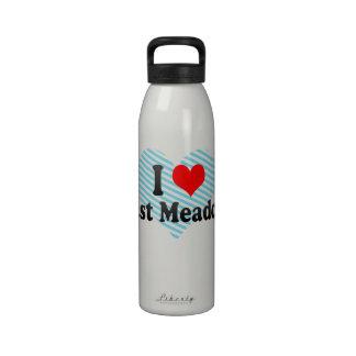 Amo East Meadow Estados Unidos Botella De Agua