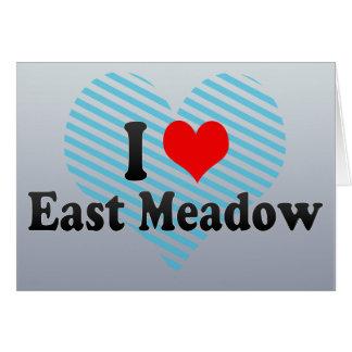 Amo East Meadow, Estados Unidos Tarjeta De Felicitación
