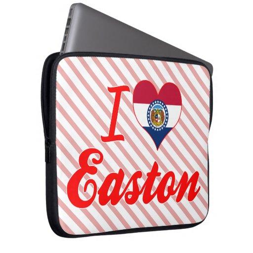 Amo Easton, Missouri Funda Portátil