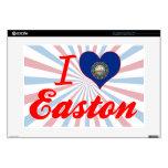 Amo Easton, New Hampshire Calcomanías Para 38,1cm Portátiles