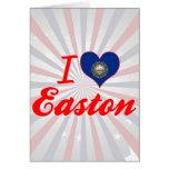 Amo Easton, New Hampshire Tarjeton