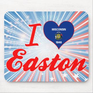 Amo Easton, Wisconsin Alfombrillas De Ratón