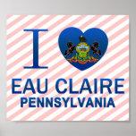 Amo Eau Claire, PA Impresiones