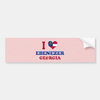 Amo Ebenezer, Georgia Etiqueta De Parachoque