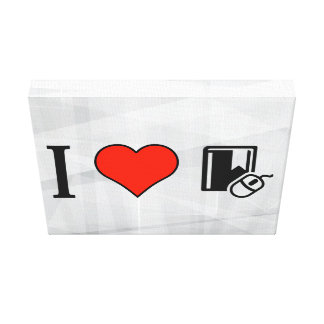 Amo Ebooks Impresión En Lona Estirada
