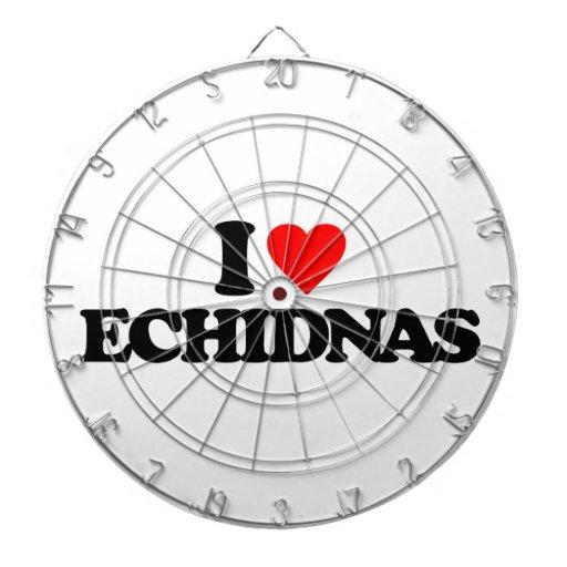 AMO ECHIDNAS TABLA DARDOS